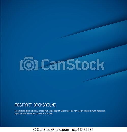 bleu, résumé, fond - csp18138538