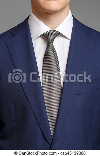 mode de vente chaude comment avoir mode designer bleu, smoking, homme, gris, cravate