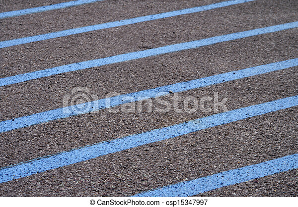 bleu trottoir lignes bleu secteur peint lignes illustration de stock rechercher des. Black Bedroom Furniture Sets. Home Design Ideas
