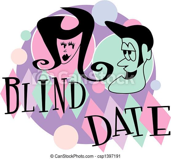 blind date retro vintage cartoon clip art vector clip art search rh canstockphoto com date clipart black and white date clipart black and white