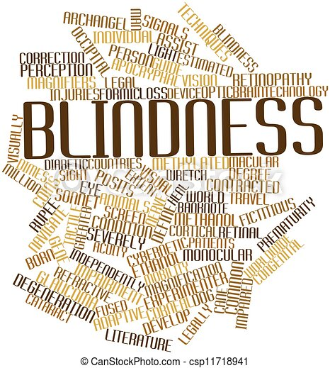 Blindness - csp11718941