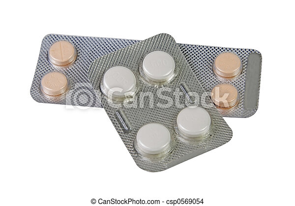 Blisters with pills - csp0569054