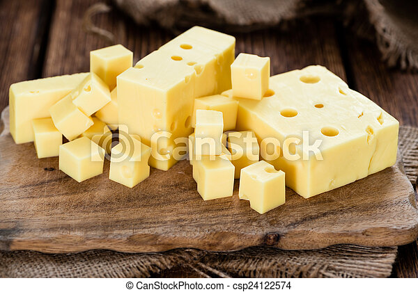 Block of Cheese - csp24122574