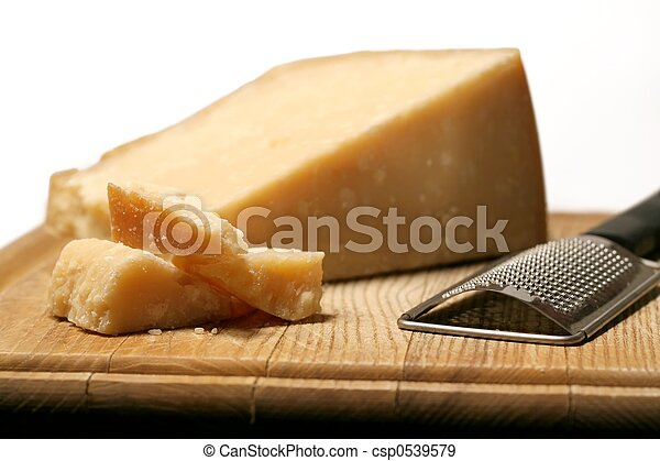 Block Of Cheese Block Of Parmesan Cheese With Metal Grater On Wooden Cutting Board,Artichoke Plant