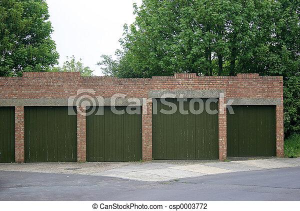 Block of garages - csp0003772