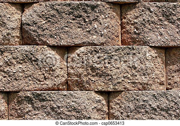 Block Retaining Wall - csp0653413