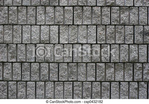Block Wall 4 - csp0432182