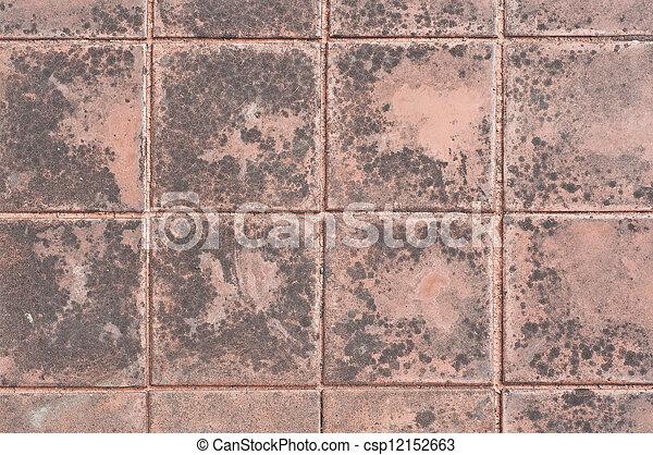 Block wall. - csp12152663