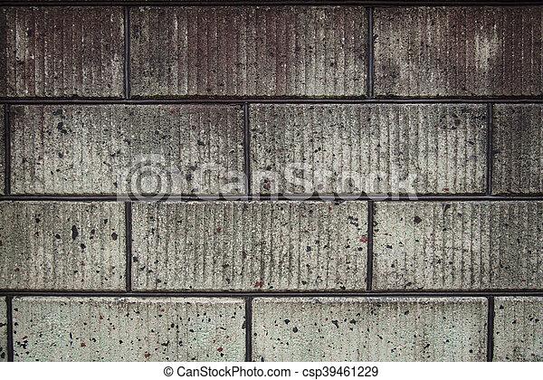 Block wall - csp39461229