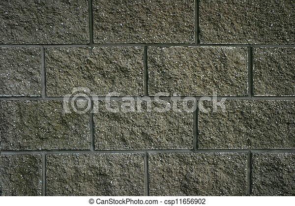 Block Wall - csp11656902