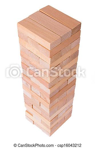 Blocks of Wood - csp16043212