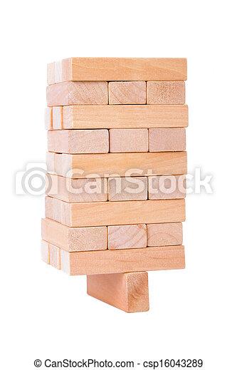Blocks of Wood - csp16043289