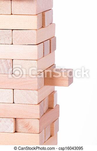 Blocks of Wood - csp16043095