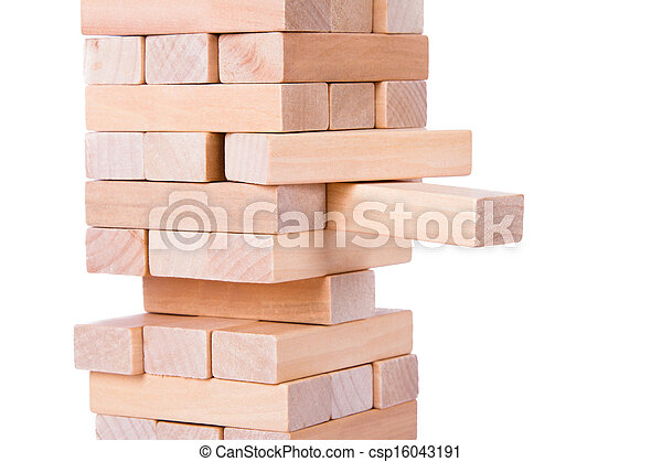 Blocks of Wood - csp16043191