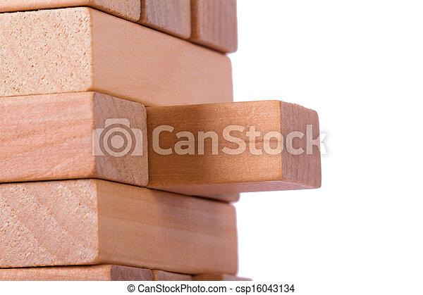 Blocks of Wood - csp16043134