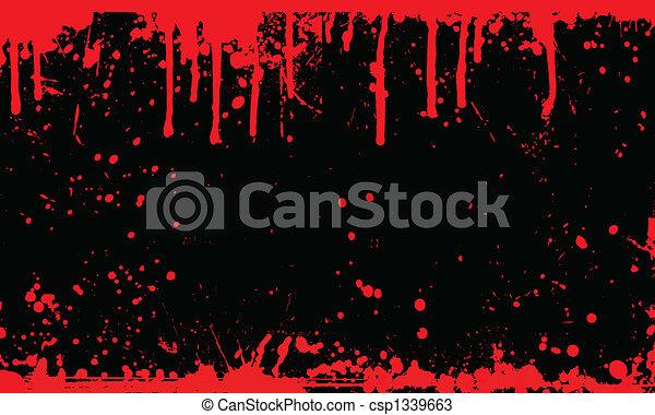 blod, bakgrund, splat - csp1339663