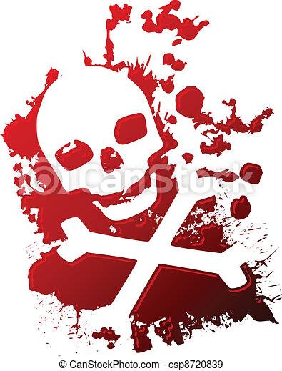 blod, gift - csp8720839
