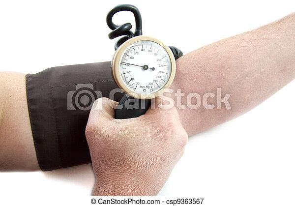 Blod pressure - csp9363567