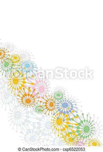 bloem, achtergrond - csp6522053