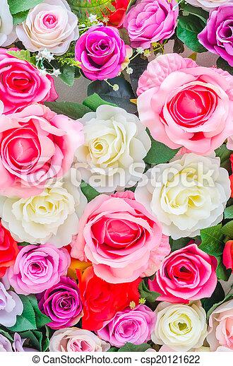 bloemen, achtergrond - csp20121622