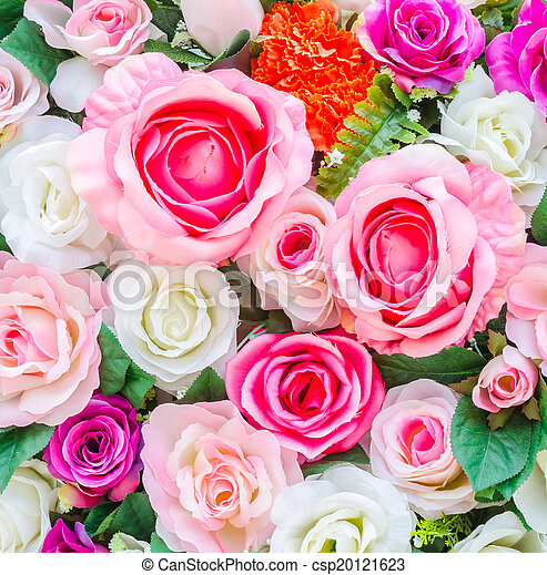 bloemen, achtergrond - csp20121623