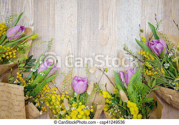 bloemen, achtergrond - csp41249536