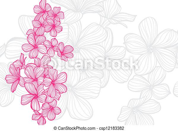 bloemen - csp12183382