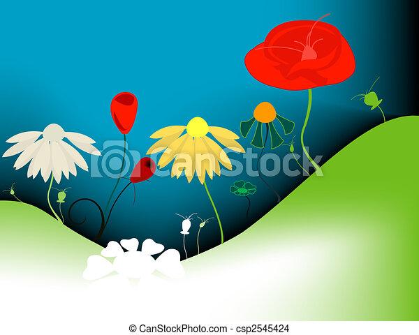 bloemen - csp2545424