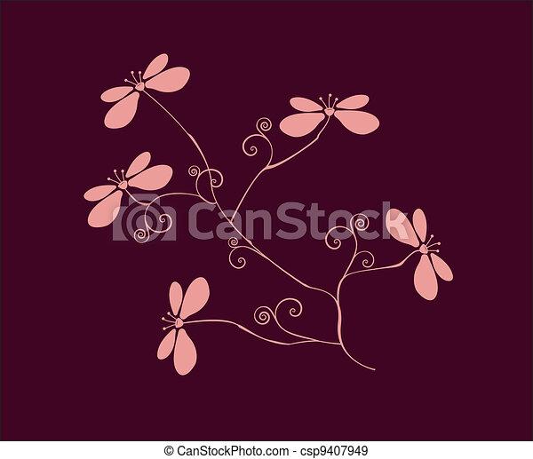 bloemen - csp9407949