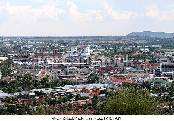 Bloemfontein cityscape - csp12455961