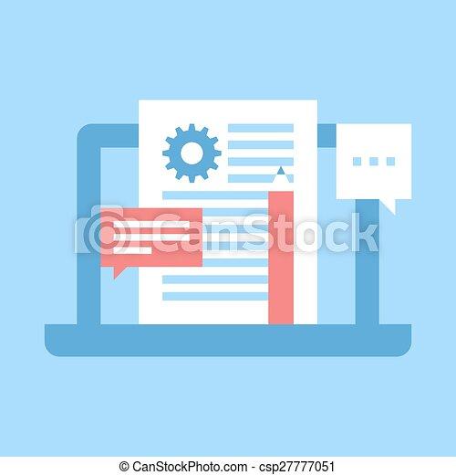 blog, amministrazione - csp27777051