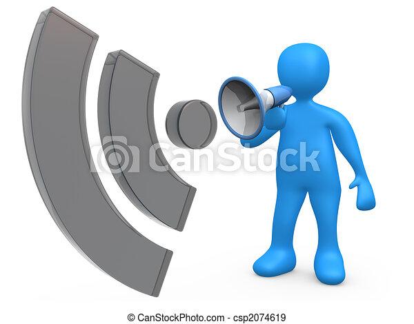 blog, comunicazione - csp2074619