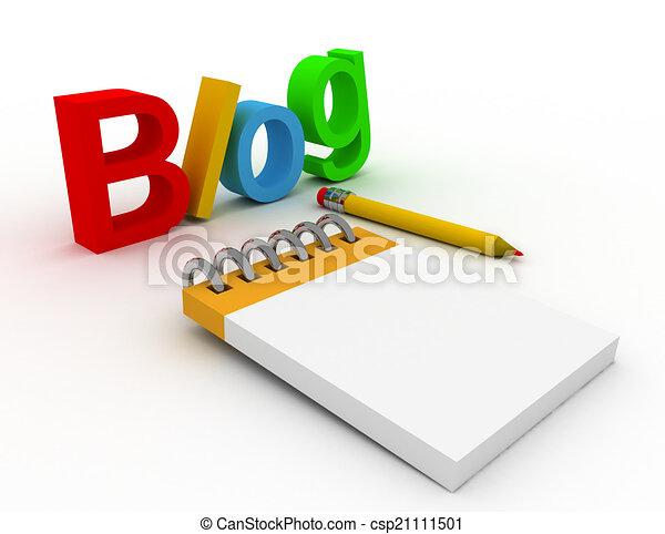 blog concept - csp21111501