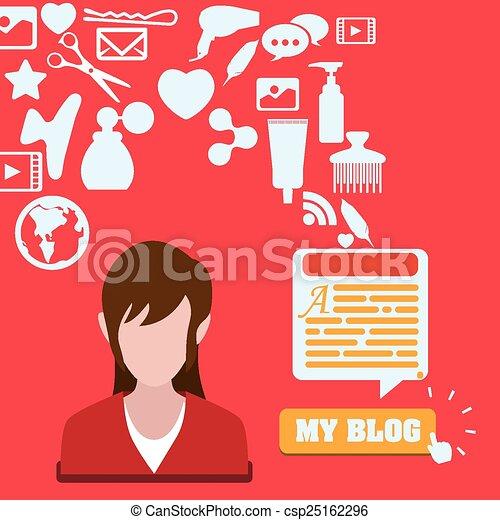 blog concept - csp25162296