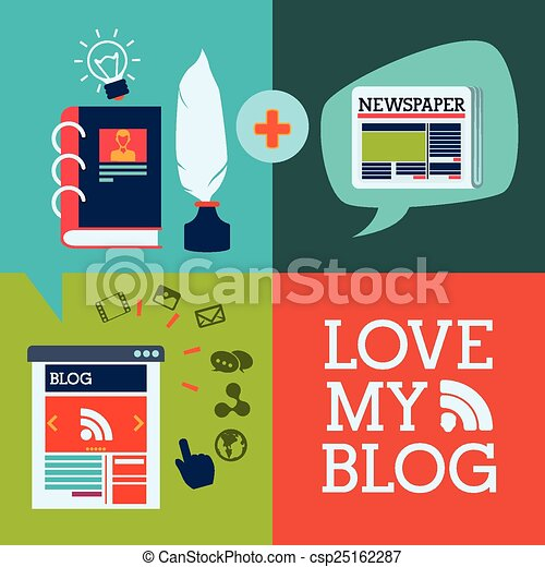 blog concept - csp25162287