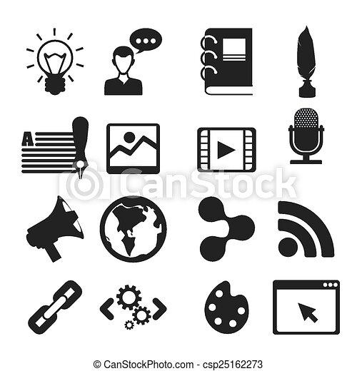 blog concept - csp25162273