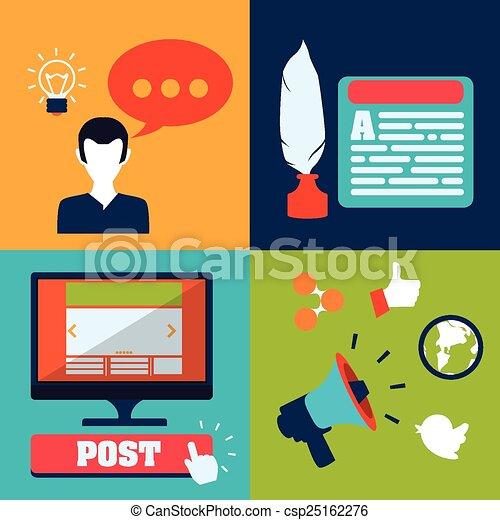blog concept - csp25162276