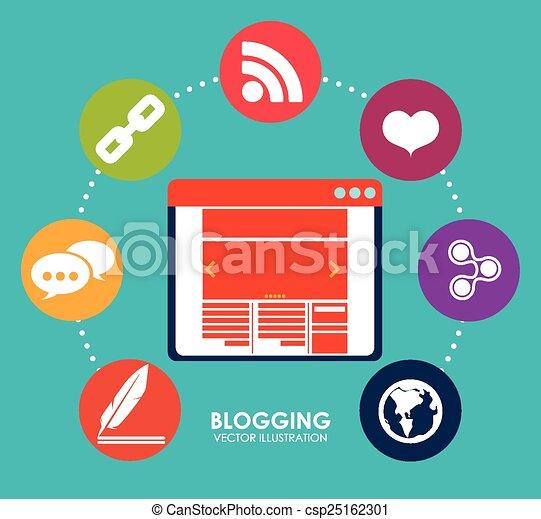 blog concept - csp25162301