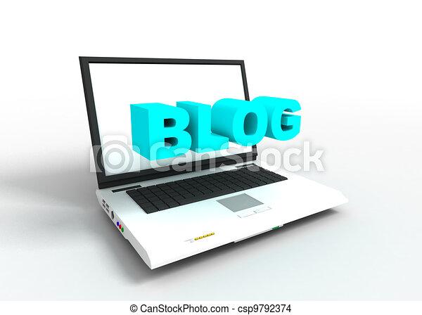 blog copncept - csp9792374