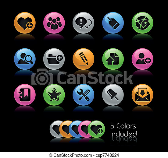 blog, gelcolor, &, /, internet - csp7743224