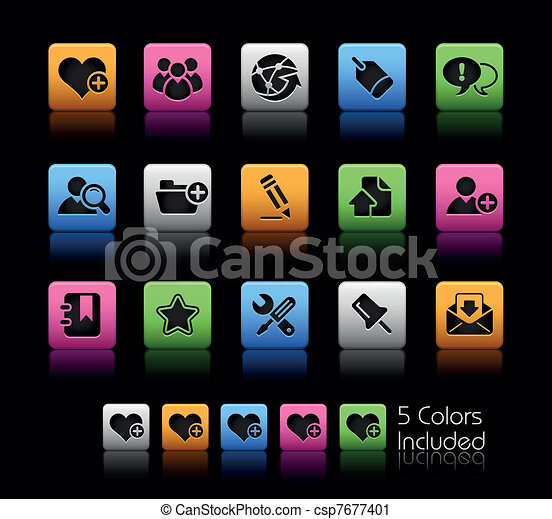 Blog & Internet / ColorBox - csp7677401