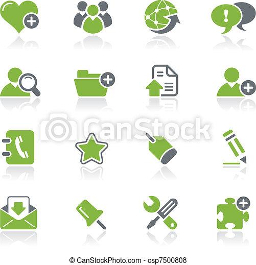 Blog & Internet Icons / Natura - csp7500808