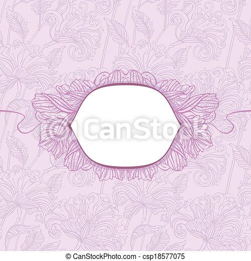 blom- mönstra, skydda - csp18577075
