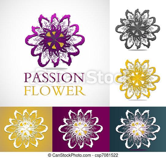 blomma, passion - csp7081522