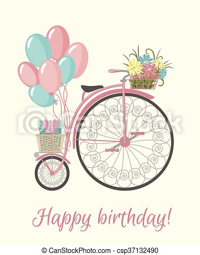 fødselsdag cykel