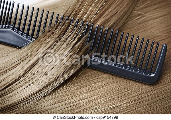 Blond Hair - csp9154799