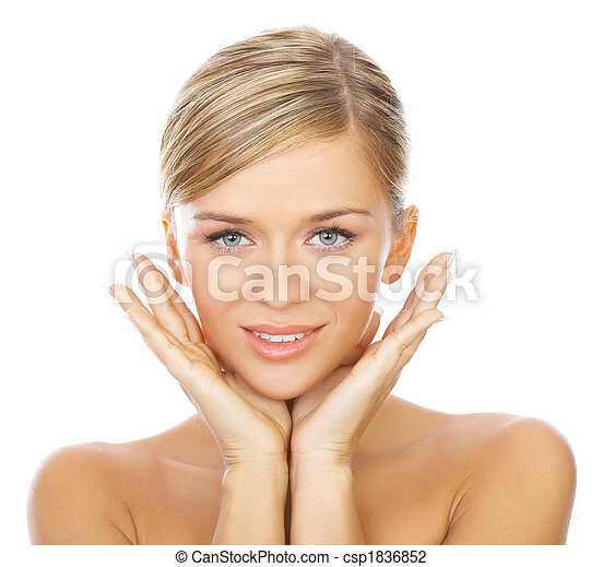 Blond haired Beauty - csp1836852