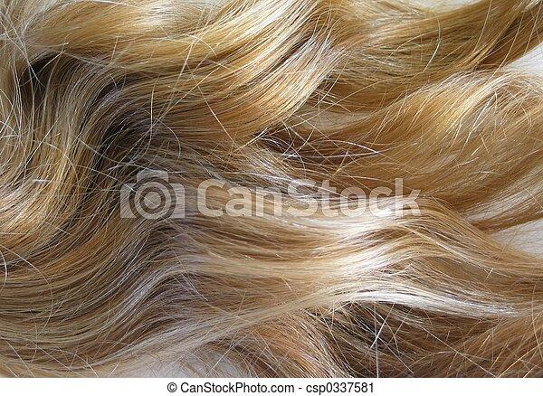 Blonde Hair - csp0337581