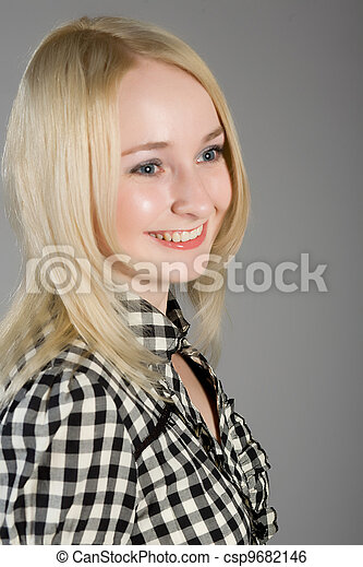 blonde  - csp9682146