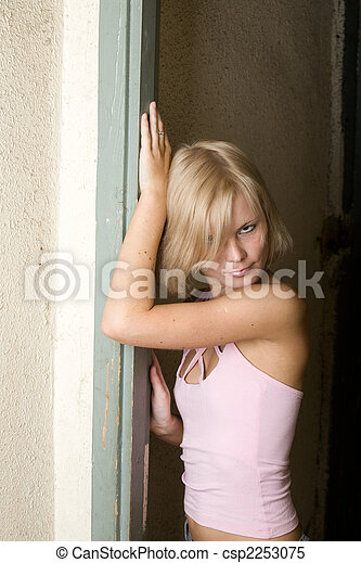 blonde - csp2253075